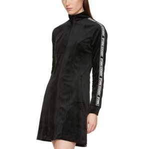 NWT Opening Ceremony black velour track suit dress